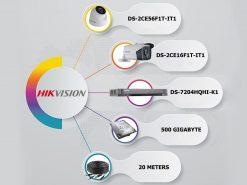 پکیج-2-دوربین-مداربسته-3-مگاپیکسل-هایک-ویژن