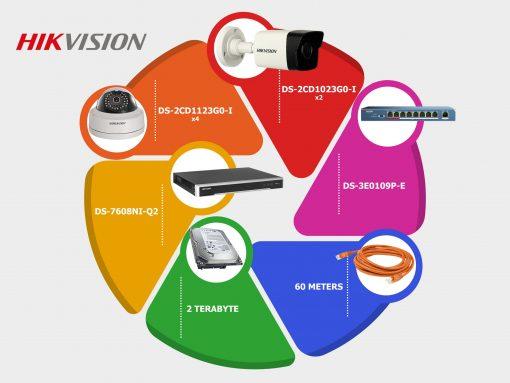 پکیج-6-دوربین-مداربسته-دیجیتال-هایک-ویژن