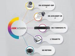 پکیج-6-دوربین-مداربسته-2-مگاپیکسل-هایک-ویژن